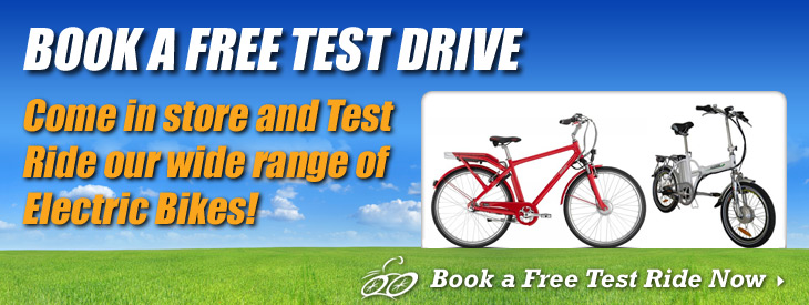 Book a free test ride!